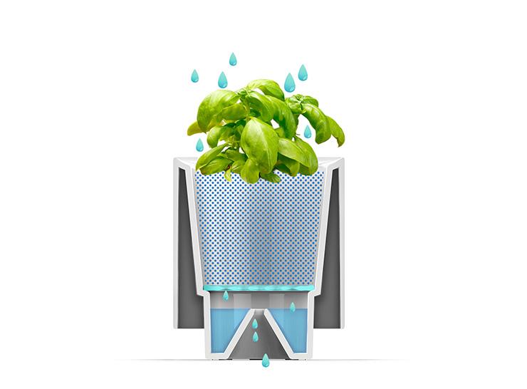 LeGrow - LEGO-Like Indoor Gardening System by Winmart Design