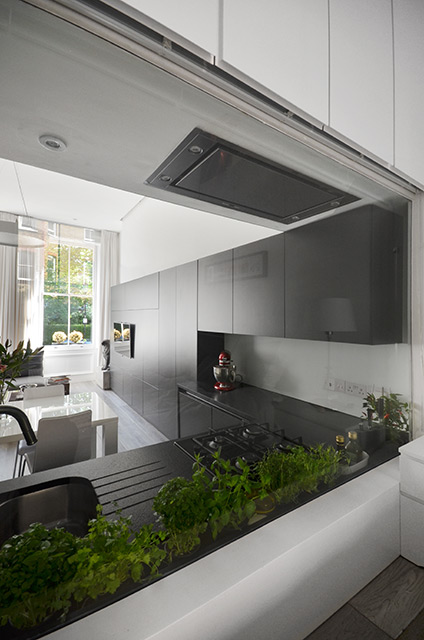 Nevern Square Apartment in London by Daniele Petteno Architecture Workshop