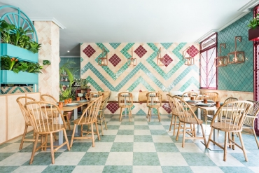Albabel's New Restaurant in Spain by Masquespacio