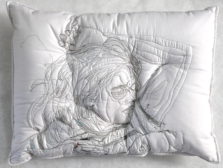 'Sleep Series' Collection of Artistic Pillows by Maryam Ashkanian