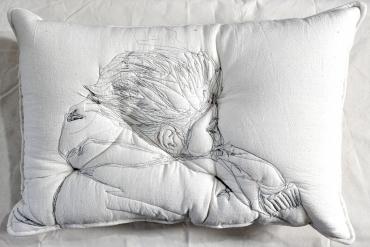 'Sleep Series' Collection of Artistic Pillows by Maryam Ashkanian