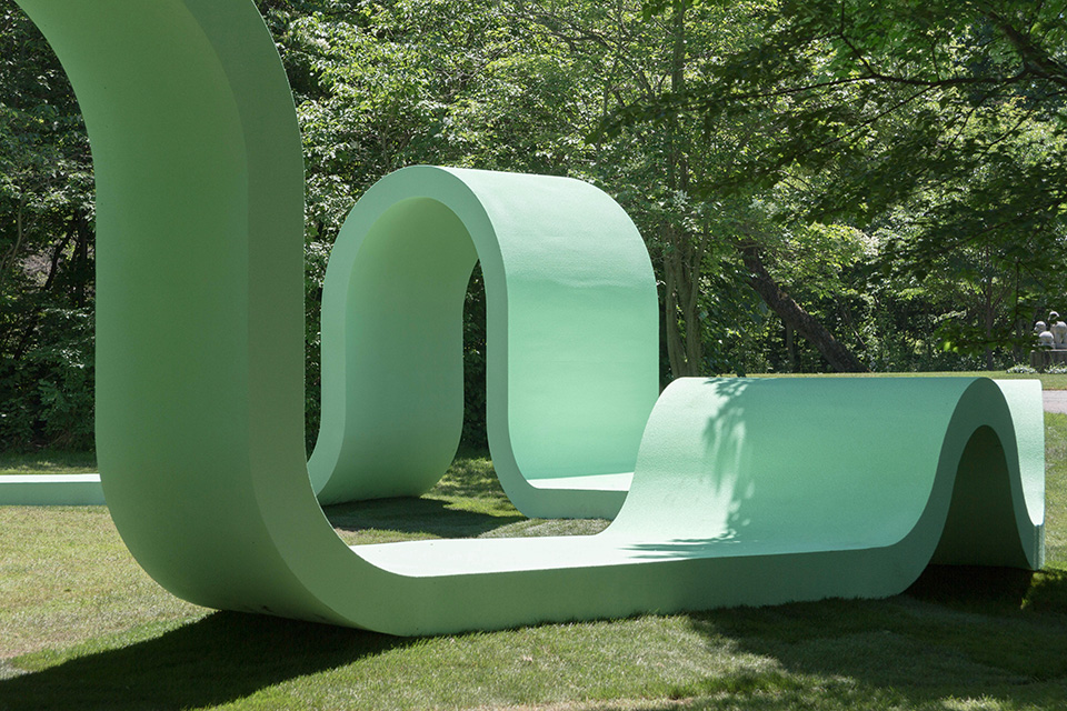 'Rounds' Whimsical Outdoor Performance Pavilion by SPORTS