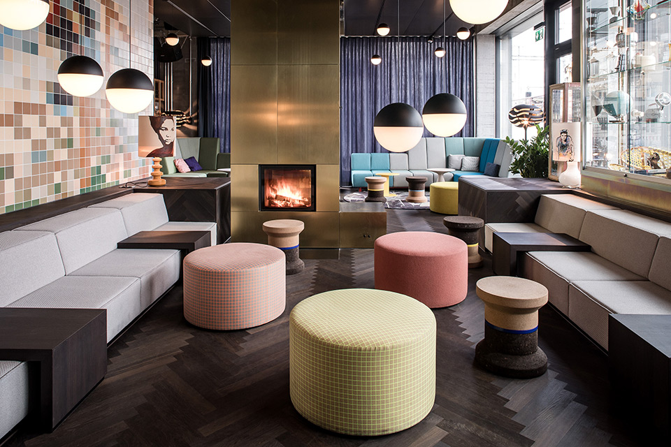 'Pocket Universe' of the 25hours Hotel Langstrasse in Zurich by studio aisslinger