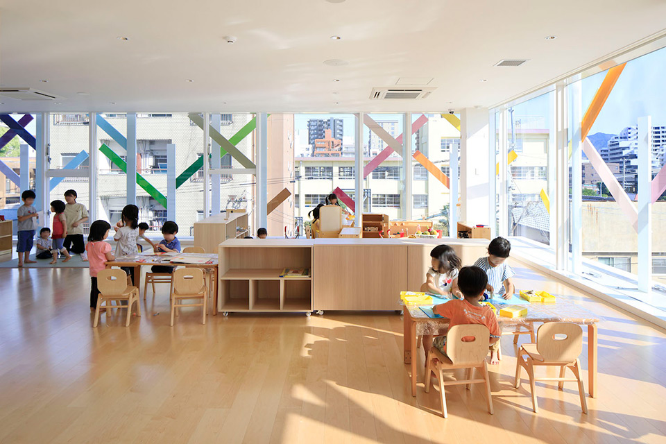 Creche Ropponmatsu Kindergarten In Japan By Emmanuelle