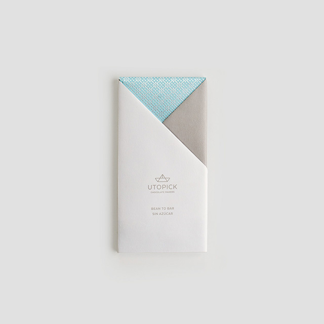 Utopick Chocolate Bar and Packaging Design by Lavernia & Cienfuegos