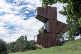 Compact Living:: Living Unit in Slovenia by OFIS arhitekti