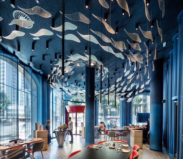 Tunateca Balfegó - Red Tuna Restaurant in Barcelona by El Equipo Creativo