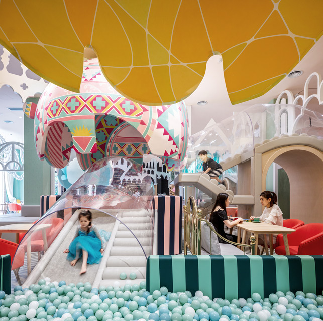 Neobio Kids Restaurant in Shanghai by X+Living
