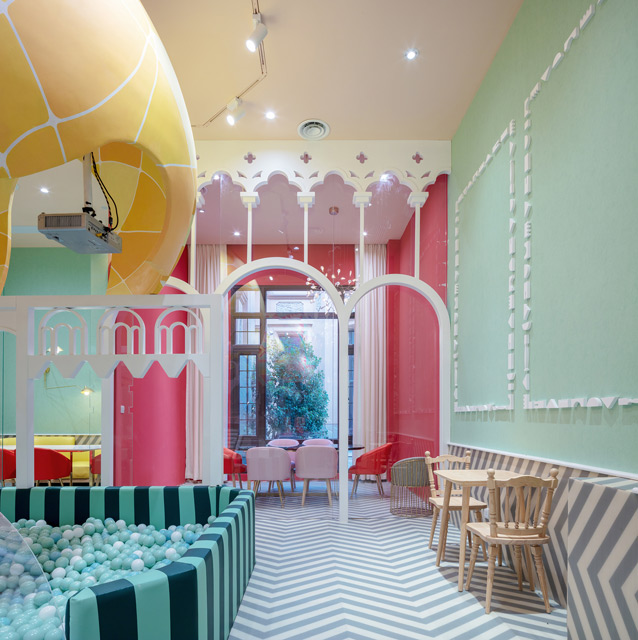 Neobio Kids Restaurant in Shanghai by X+Living