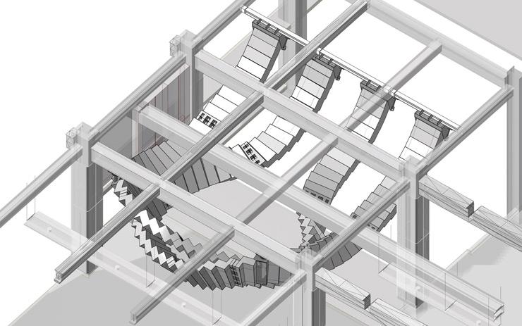 'Interloop' Large-Scale Installation at Sydney's Underground Station by Chris Fox