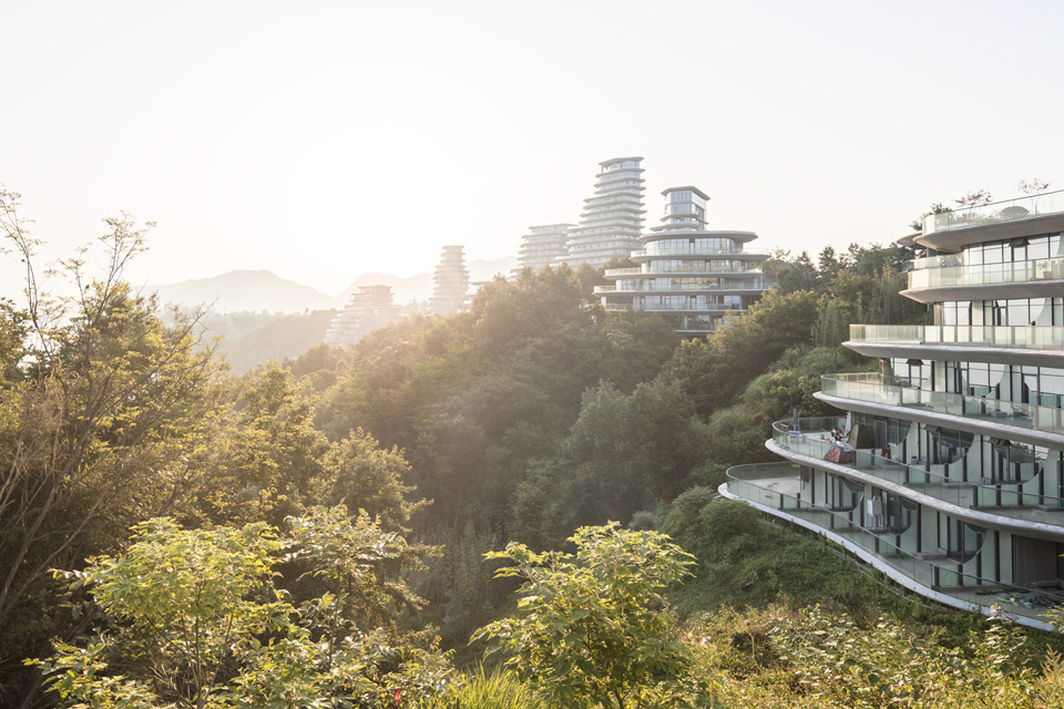 Huangshan Mountain Village in China by MAD Architects