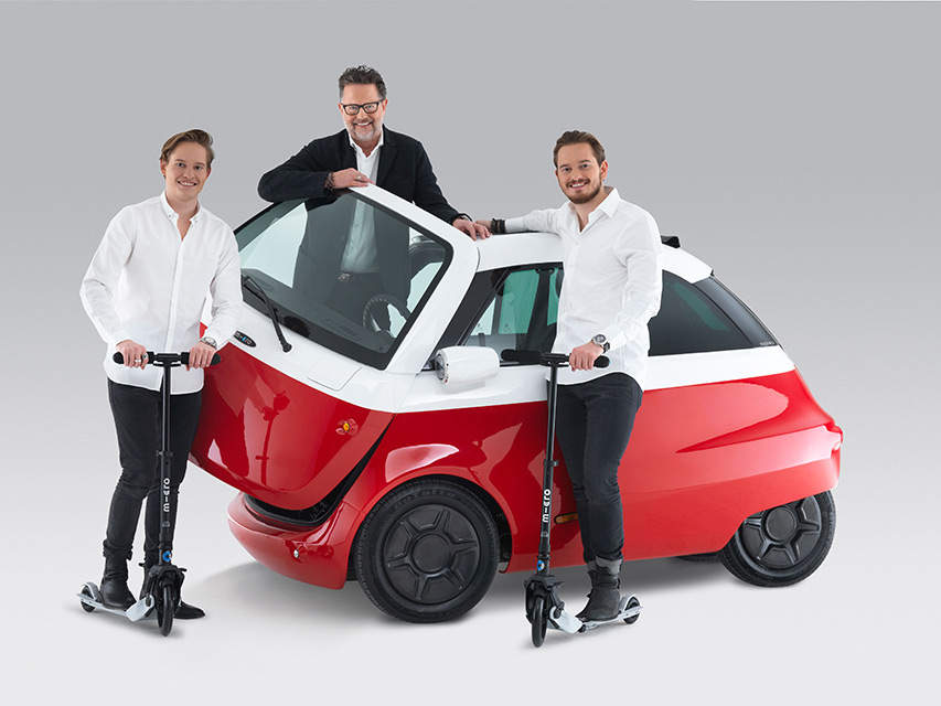 The Microlino - Contemporary Bubble Car by Micro Mobility Systems