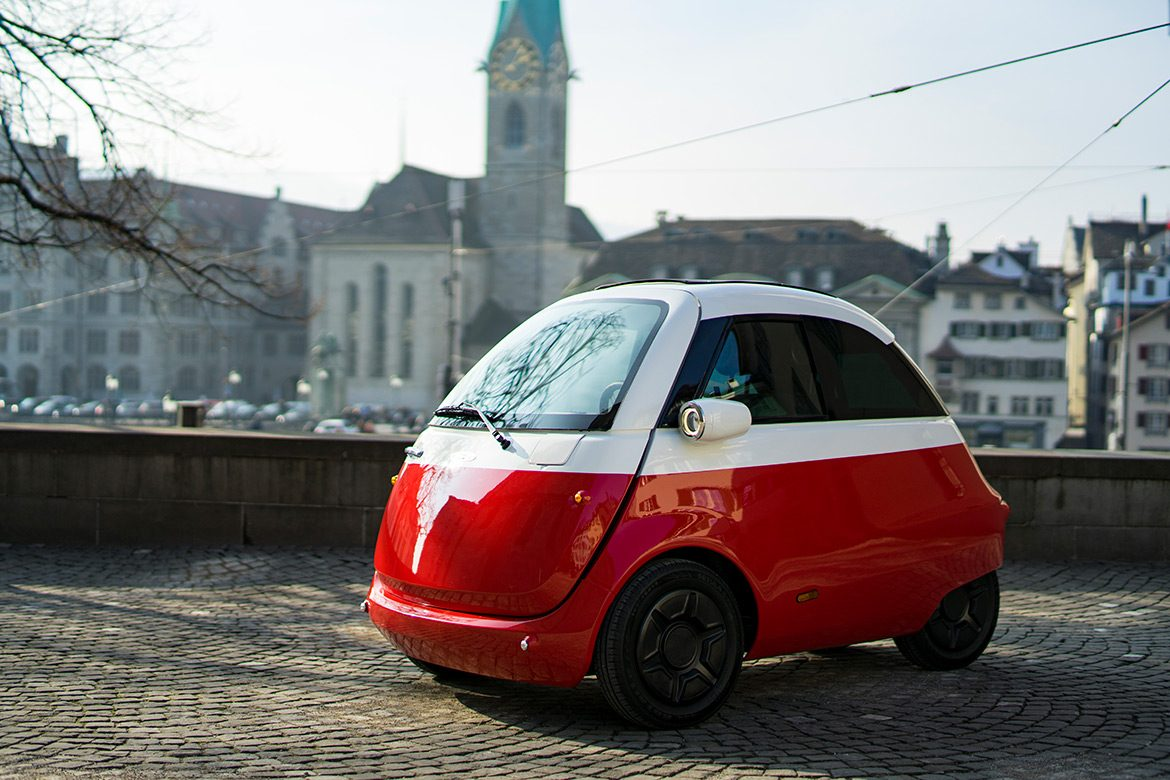 Microlino - Contemporary Bubble Car by Micro Mobility Systems