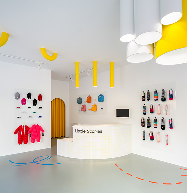 'Little Stories' Kids Concept Store in Valencia by CLAP Studio