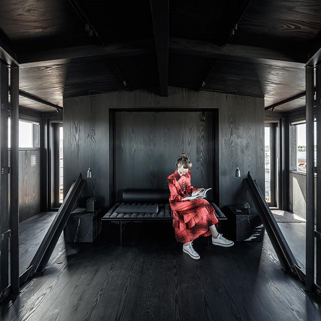 Where to Stay in Copenhagen - THE KRANE Private Retreat for Two in Former Coal Crane