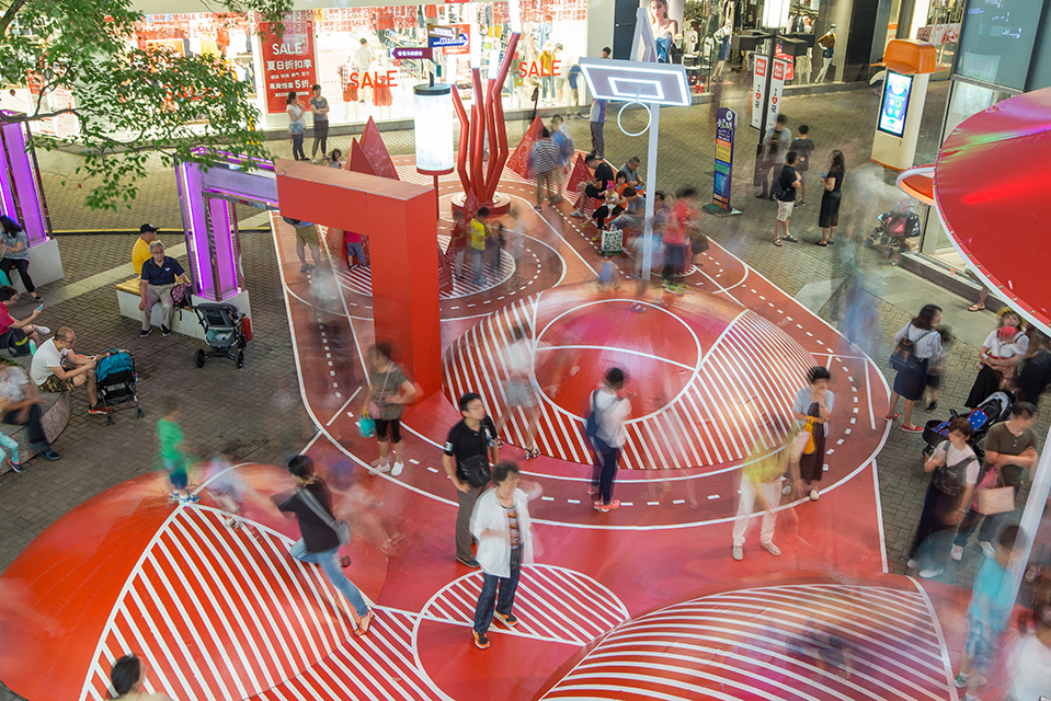 The Red Planet Kids Playground In Shanghai By 100