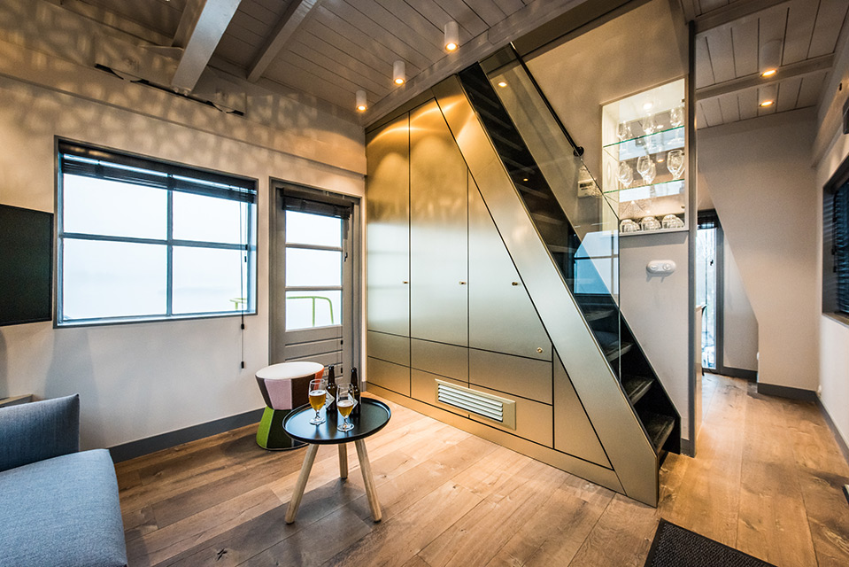 Where to Stay in Amsterdam - Three-Story Luxury Apartment in Former Harbor Crane