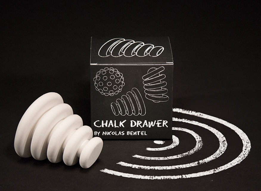 'Chalk Drawers' Series of 3D-Printed Chalk Toys by Nikolas Bentel