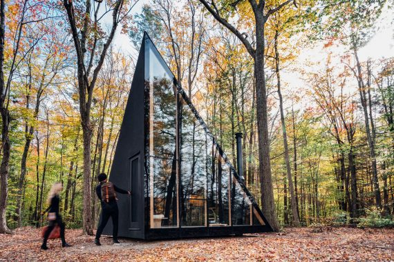 Compact Living:: A45 Tiny House for Klein by BIG - Bjarke Ingels Group