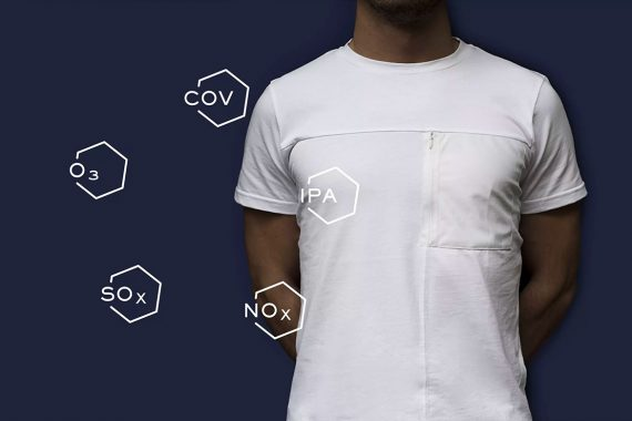 RepAir Innovative T-Shirt by Kloters that Cleans the Air from Pollution