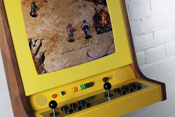 OriginX Handcrafted Wooden Arcade Cabinet by Love Hultén