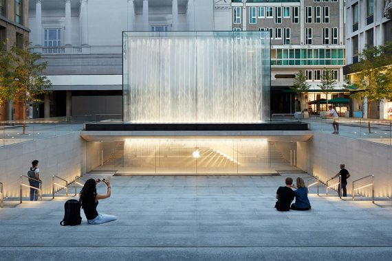 Apple Piazza Liberty Store and Public Plaza Opens in the Center of Milan
