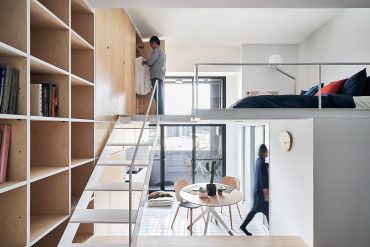 Compact Living:: 33 sqm Apartment in Taipei by Phoebe Sayswow Architects