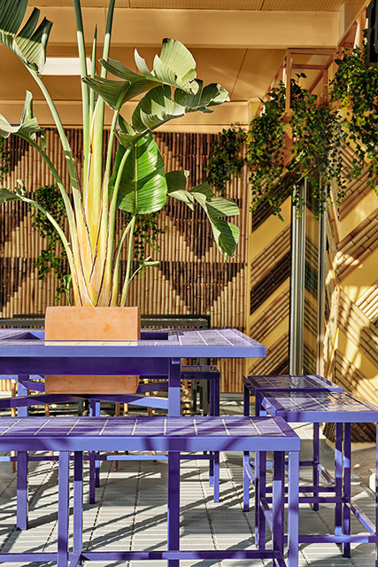 Masquespacio Designed Colorful Bar TORÖ in Ibiza