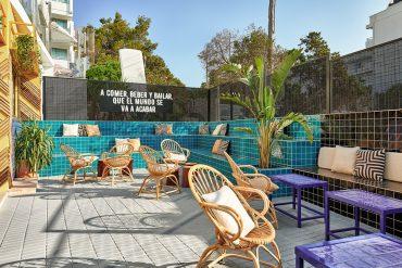 Masquespacio Designed Colorful Bar TORÖ in Ibiza