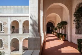Where to Stay in Tel Aviv – The Jaffa Hotel in Former French Hospital and Monastery