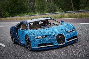 LEGO Built a Drivable Life-Size Copy of the Bugatti Chiron