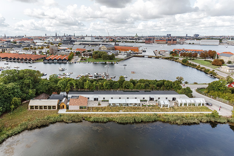 BIG-Bjarke Ingels Group Designed 'Restaurant Village' in Copenhagen for noma