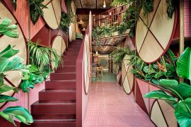Kaikaya – the First Tropical Sushi Restaurant in Valencia by Masquespacio
