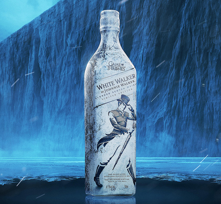 White Walker by Johnnie Walker – Game of Thrones-Inspired Limited-Edition Whisky Blend