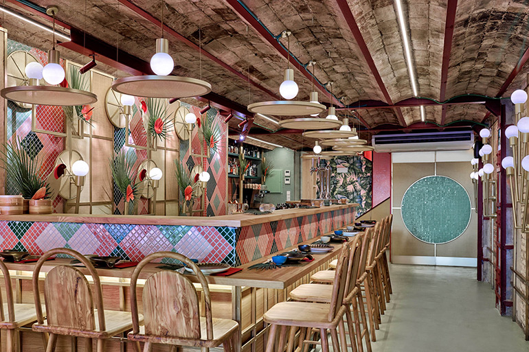 Kaikaya – the First Tropical Sushi Restaurant in Valencia by Masquespacio