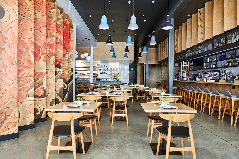 Sake Dojo Restaurant in Los Angeles Inspired by Traditional Japanese Tattoos