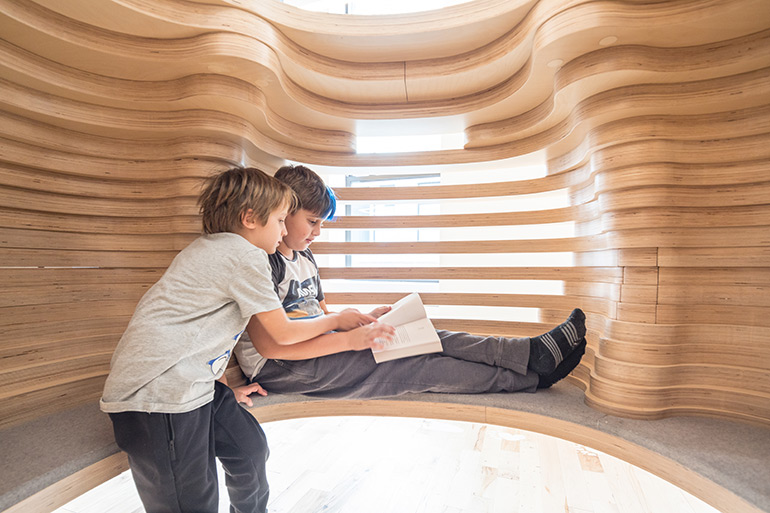 WeGrow School in New York City Designed by BIG–Bjarke Ingels Group