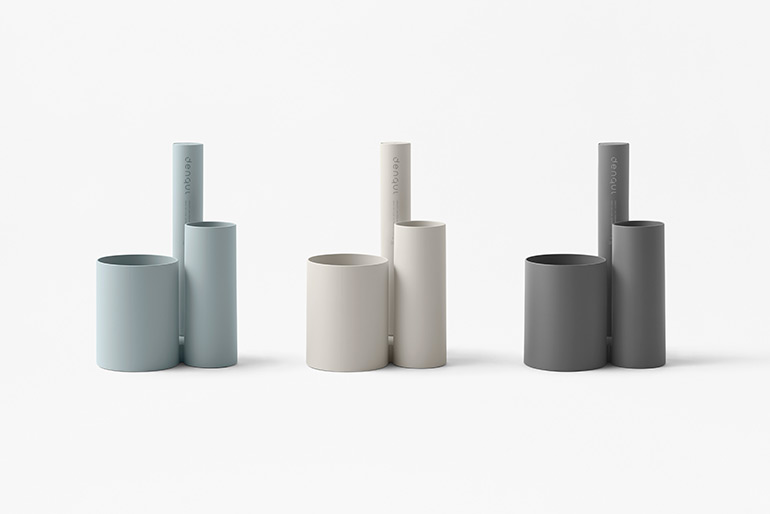 Nendo Designed Power Bank with Hand Generator for Mobile Devices