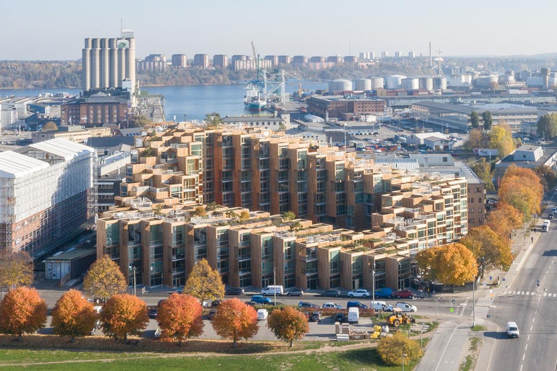 79&Park – Residential Hillside in Stockholm Designed by BIG-Bjarke Ingels Group