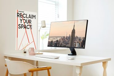 Samsung Introduces Space-Saving Monitor That Will Declutter Your Desk