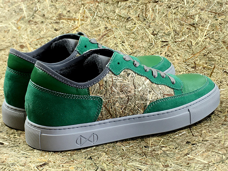 Nat-2 Hayfield – 100% Vegan Sneakers Made with Real Hay, Grass, and Flowers