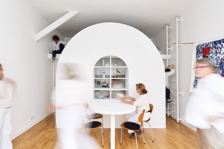 Compact Living:: 30 Sqm Parisian Apartment Designed by FREAKS Architecture