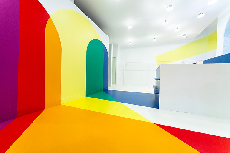 Studio Malka Architecture Designed Colorful Interior for HOMECORE Store in Paris
