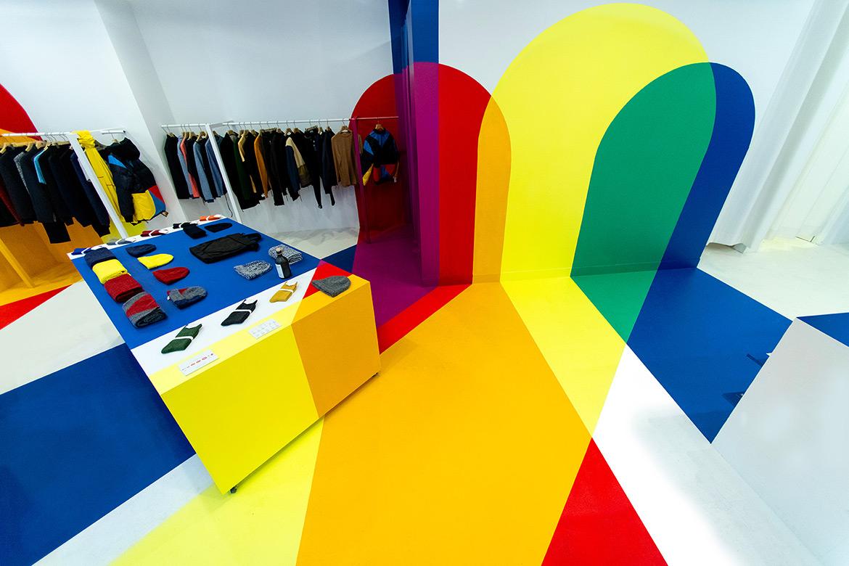 Studio Malka Architecture Designed Colorful Interior for HOMECORE Store in Paris