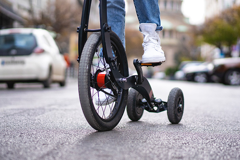 Kolelinia Introduces Third Version of Its Compact Urban Tricycle