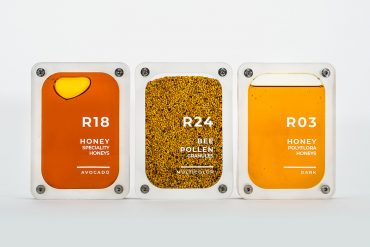 """Innovation by Nature"" – Futuristic Honey Packaging Design by CuldeSac Custom"