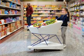 Ford Designed Self-Braking Shopping Trolley to Prevent Collisions in Supermarkets