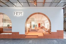 HER Fashion Store and Cafe in Hong Kong Inspired by Martian Landscape