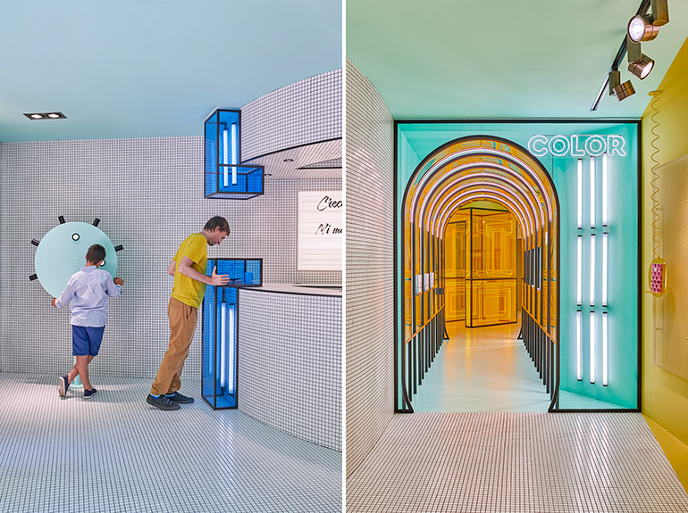 Masquespacio Designed Colorful Interior for RUBIO Concept Store in Valencia