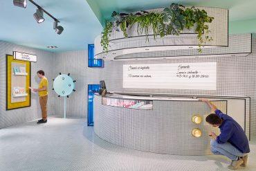 Masquespacio Designed Colorful Interior for RUBIO Concept Store in Valencia